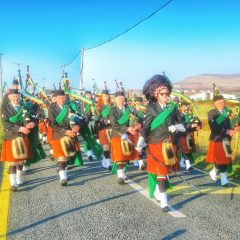 Dooagh Pipe Band